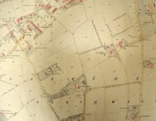 Map of Bensham, 1858