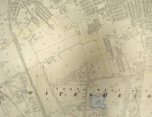 Map of Bensham 1898
