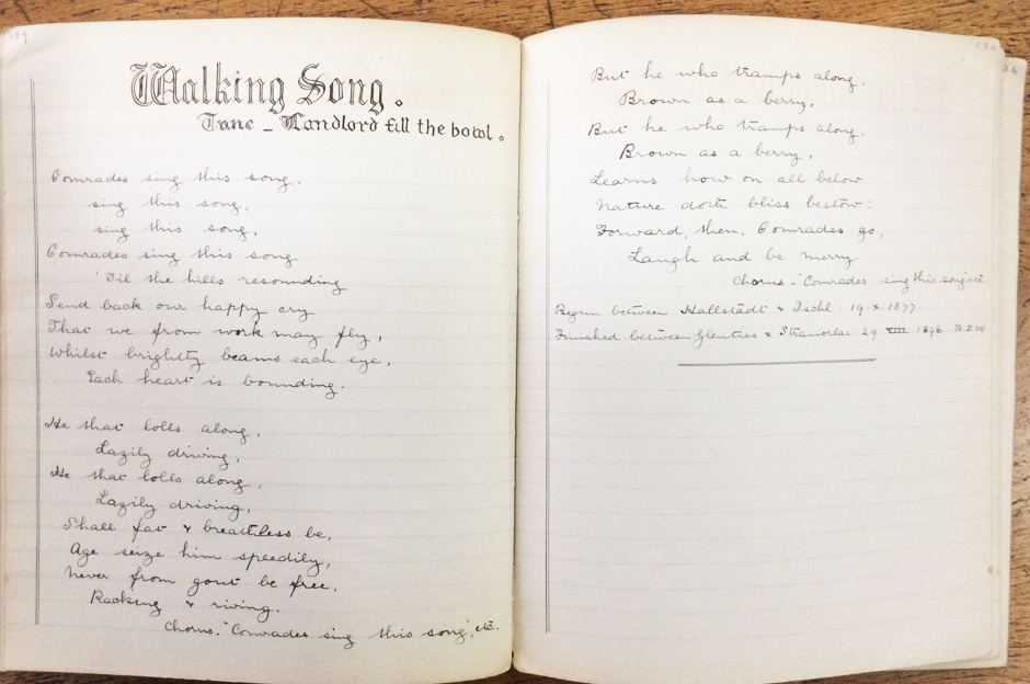 'Walking Song'
