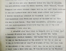 Recollection describing fugitive slaves