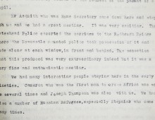 Recollections of Robert Spence Watson describing visitors to Bensham Grove