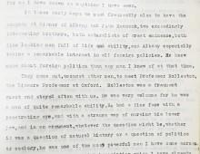 Recollections of Robert Spence Watson describing visit of Albany and John Hancock