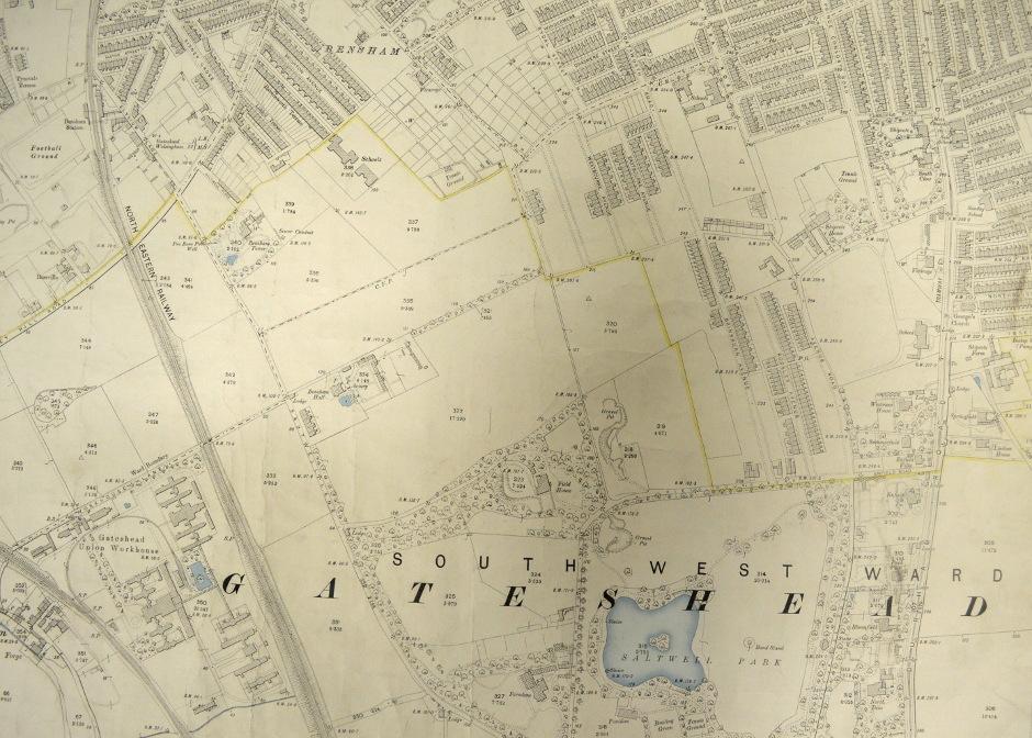 Map of Bensham 1898