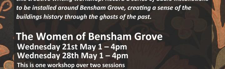 Two FREE Workshops in Bensham