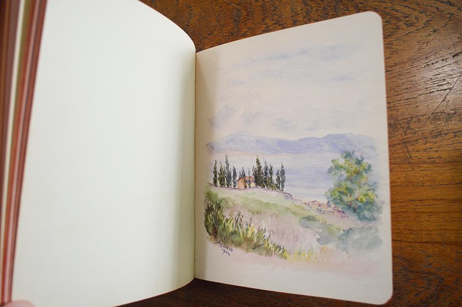 Holiday journal illustration